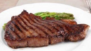 Мясо запеченное в фольге на углях