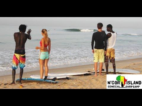 Ngor Island Surf Camp -  Senegal -  Surf School (www.gosurf.dk)