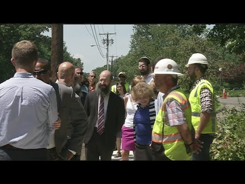 Transportation Secretary inspects infrastructure improvements in Longmeadow