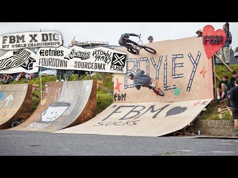 4DOWN AT THE BOYLEY JAM - FBM X DIG D.I.Y. BMX WORLDS