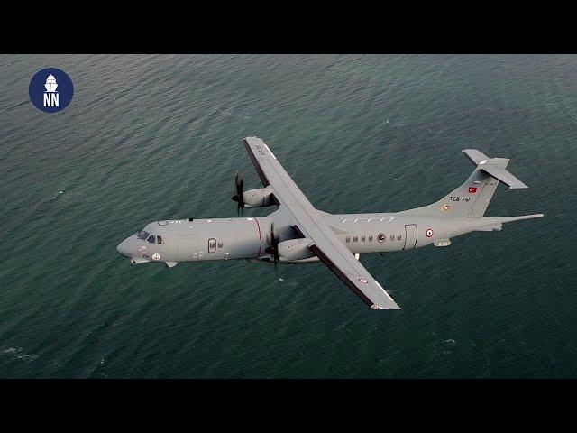 Turkish Navy ATR-72 TMPA (P-72) Maritime Patrol Aircraft - MELTEM III