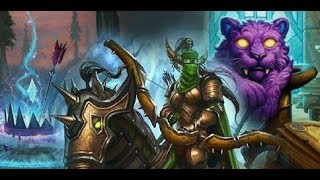 hearthstone easy up to rank 5 from rank 9 with new secret hunter