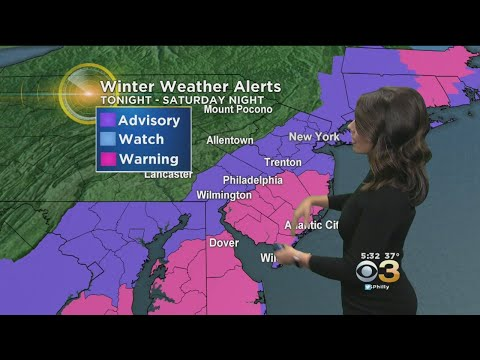 Friday Weather: Snow Storms Move North