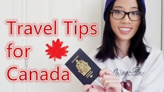 Travel Tips for Canada [SkyAndShoe]