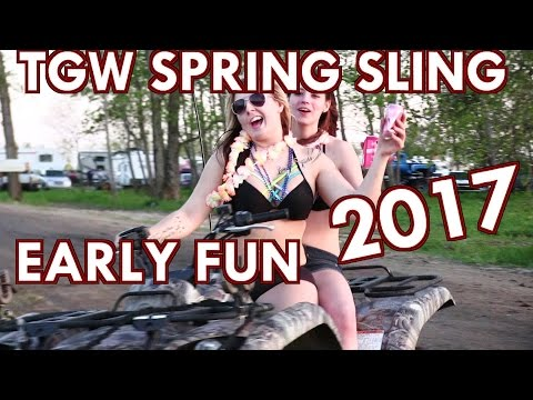 COUNTRY COMPOUND TGW SPRING SLING 2017 - THURSDAY FUN
