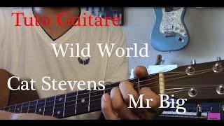 Tuto guitare Pop - Wild world - Cat Stevens - Mr Big Visiter mon si...