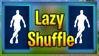 New LAZY SHUFFLE Emote on popular skins! | Fortnite Emotes