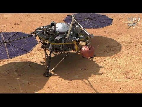 בדרך למאדים: נחיתה רכה של הגשושית של נאס'א