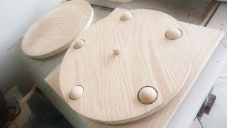 Lazy Susan Made Of  100% Wood