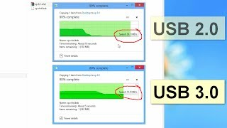 Difference between USB 2 and USB 3