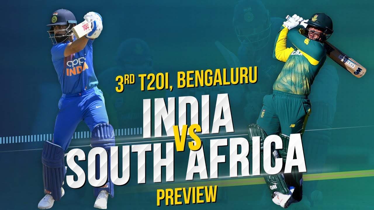 India V South Africa 3rd T20i Preview