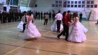 2014 02 21  Szalagavató tánc   Bedő Albert Erdészeti Szakképző Iskola és Kollégium