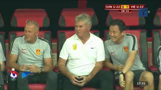 U22 Việt Nam - U22 Trung Quốc   Thầy Park Bán Hành HLV Huyền Thoại Từng Dẫn Dắt Chelsea