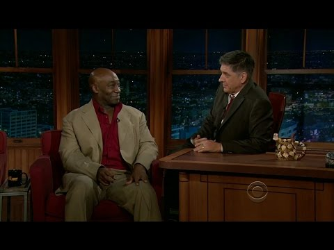 Late Late Show with Craig Ferguson 1/6/2012 Michael Clarke Duncan, Laura Prepon