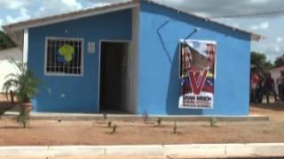 Beneficiaron a 16 familias con la entrega de viviendas en el municipio Independencia