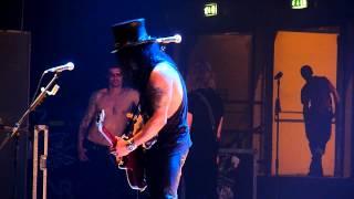 Slash Guitar Solo / Godfather Theme live Palasharp, Milan - Italie 10/06/2010