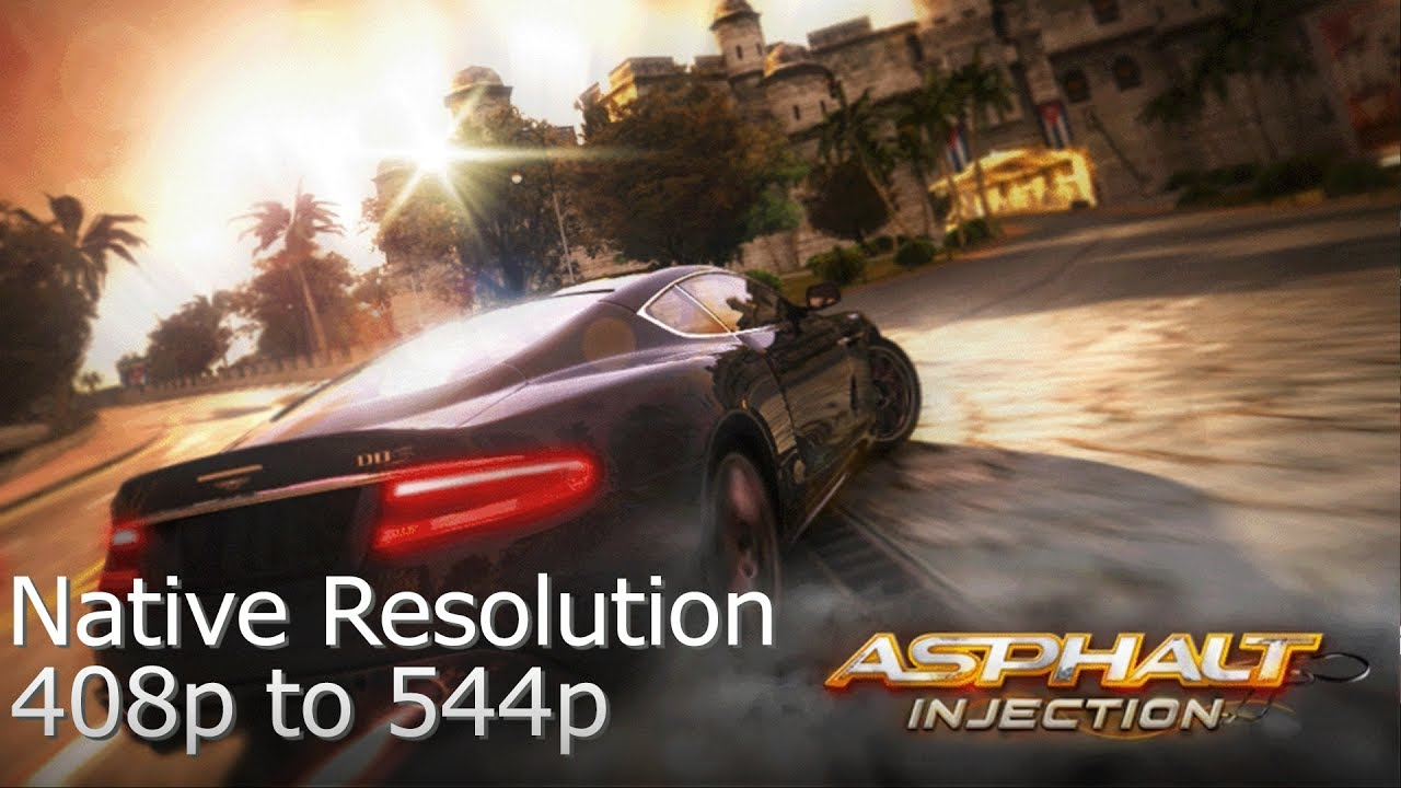PSVita: You can now run Asphalt Injection at Native Resolution and
