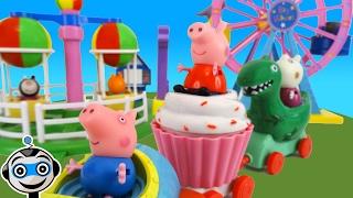 Peppa Pig y George van al Parque de Atracciones