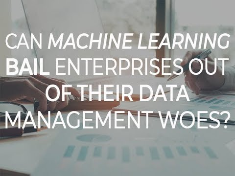 Can machine learning bail enterprises out of their data management woes?