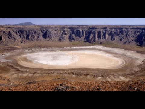 Al Wahba Volcano Crater in the Saudi Arabia KSA