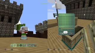 Lucas e João Pedro de 6 anos mandando bem no Minecraft!!!
