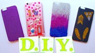 DIY iPhone Case | DIY чехлы для телефона своими руками