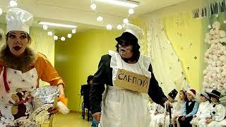 """Фрагмент """"Новогодние проделки кота Базилио и лисы Алисы"""" -2015"""