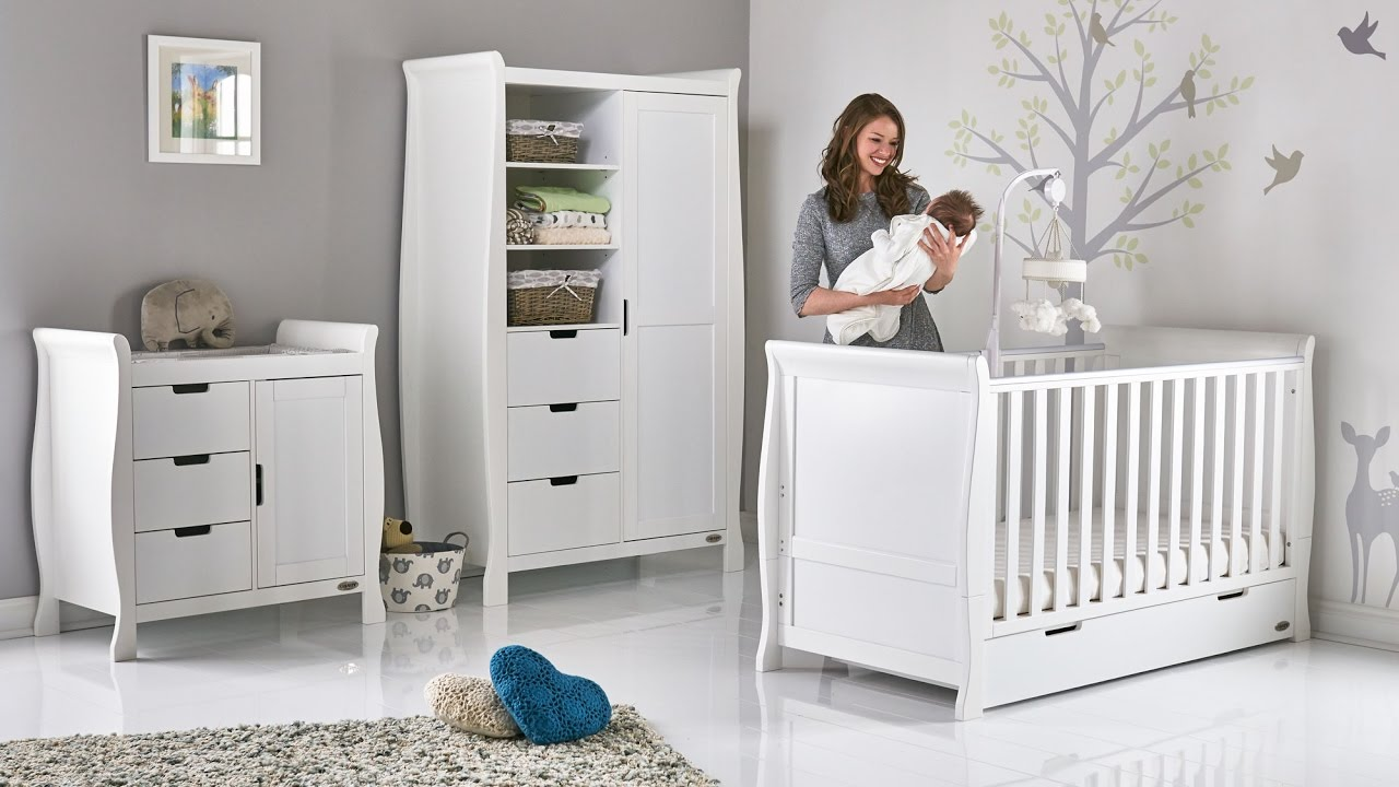 Merveilleux Introducing The Obaby Stamford Nursery Furniture Collection