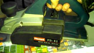 Электрорубанок Фиолент P2-82. Обзор инструмента