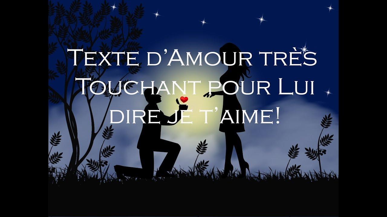Texte Damour Magnifique Pour Son Homme Lui Prouver Son Amour