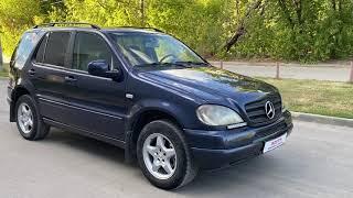 Mercedes-Benz M-класс, 2000г 3.2, AT(218 л.с.) Экспресс обзор от Ильи Соловьева...
