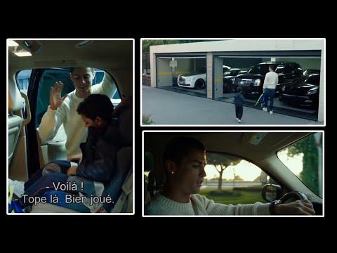 Quand Ronaldo amène son fils à l'école [Video HD]