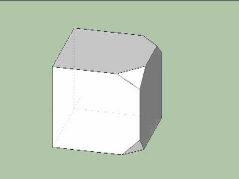 Point group symmetry of truncated cube, part 3