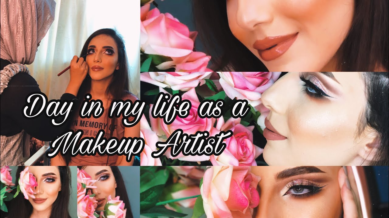A DAY IN MY LIFE AS A MAKEUP ARTIST 💄IN DUBAI| NADA SHAREEF| Follow Me Around !