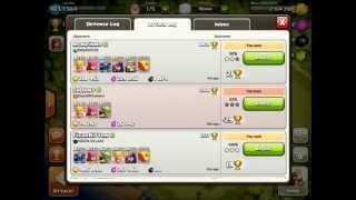 Clash of clans - 405k gold farming raid