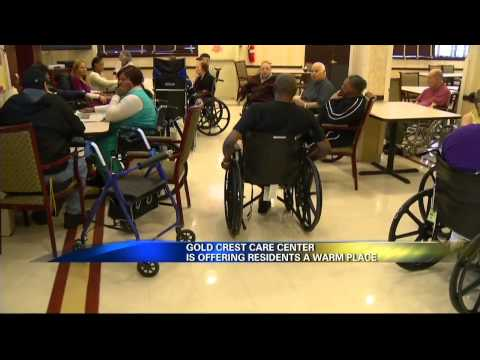 Gold Crest Care Center gets News 12 coverage on their Warming Station.