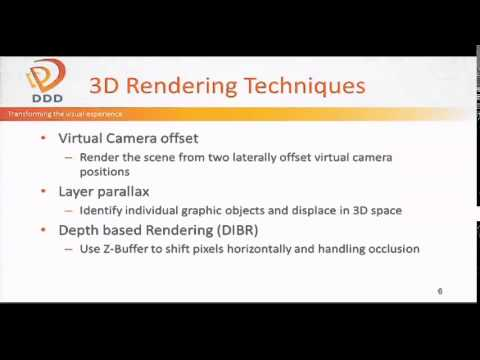 SD&A 2014: Architecture for high performance stereoscopic game rendering on Android [9011-13]