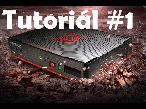 Tutoriál #1 AVer Media Game Capture HD 2  1080p  Sk