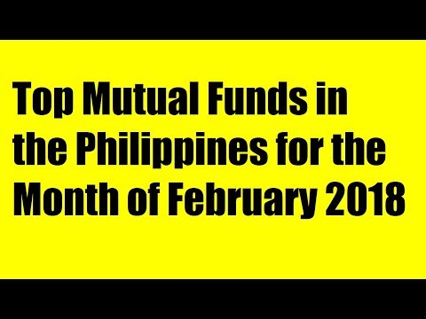 Top Mutual Funds in the Philippines for the Month of February 2018