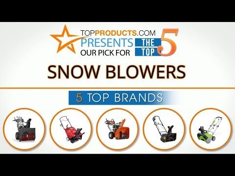 Best Snow Blower Reviews 2017 – How to Choose the Best Snow Blower