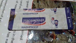 Hansaplast Medicated Dressing कटे हुए घाव  और फोड़े वाले घाव  को ठीक करने का 1st Treatment