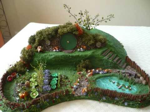 A Hobbit House And Garden   YouTube