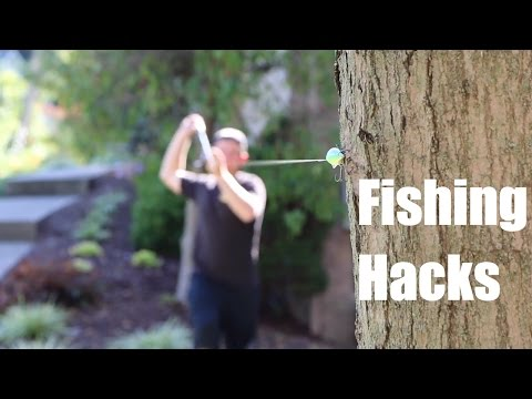 TOP 5 FISHING HACKS!!