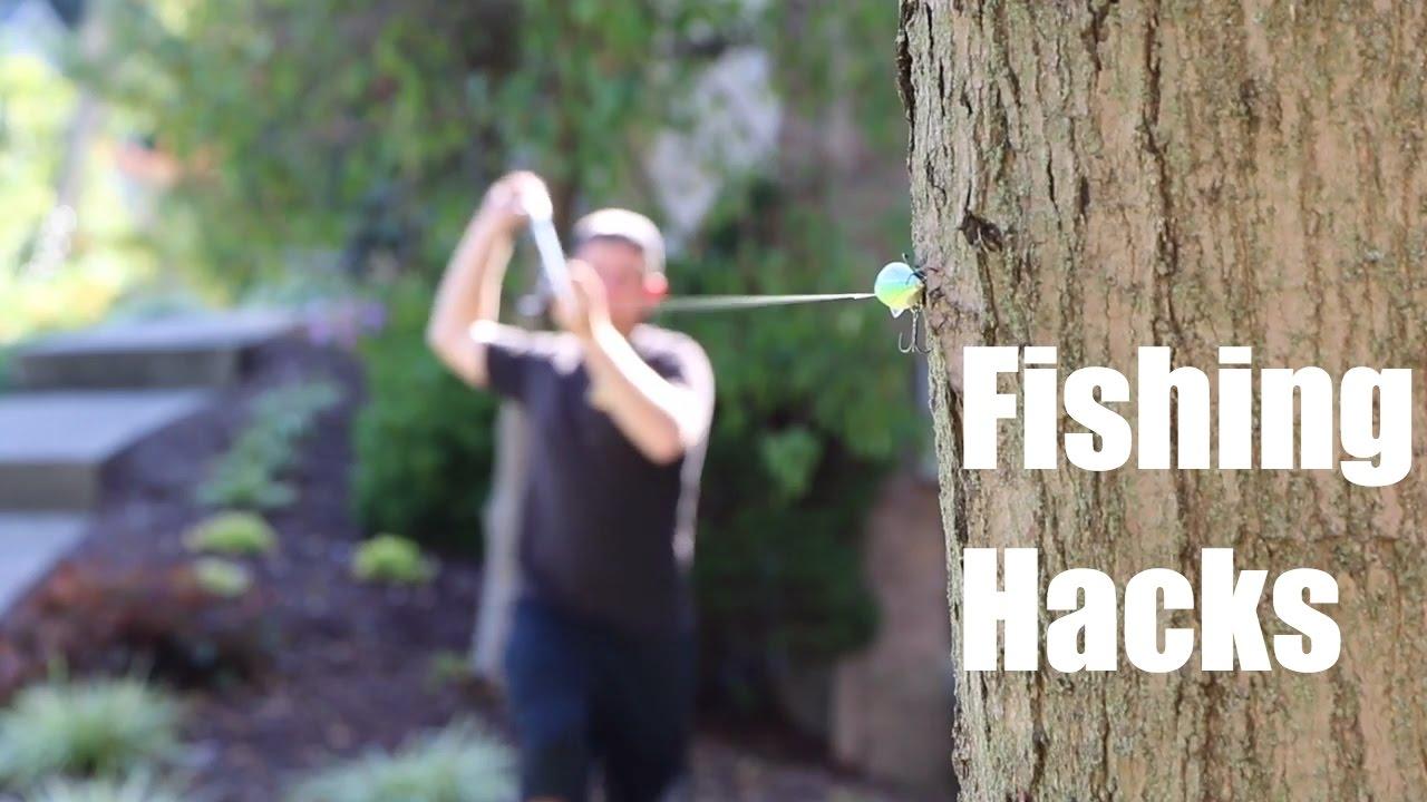 TOP 5 FISHING HACKS