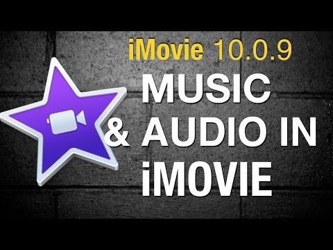 Audio and Music in iMovie 10 - 2015
