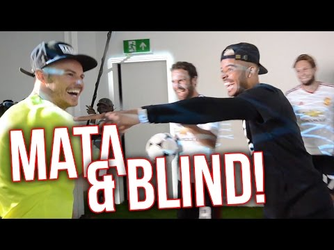 BANTER & SKILLS with MATA & BLIND!
