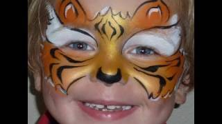 Fast Faces - Tiger Mask Face Painting