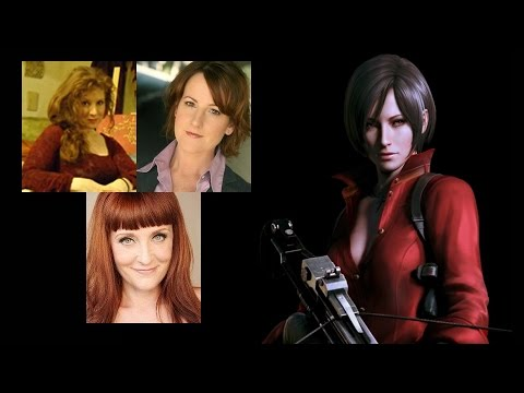 Comparing The Voices  Ada Wong