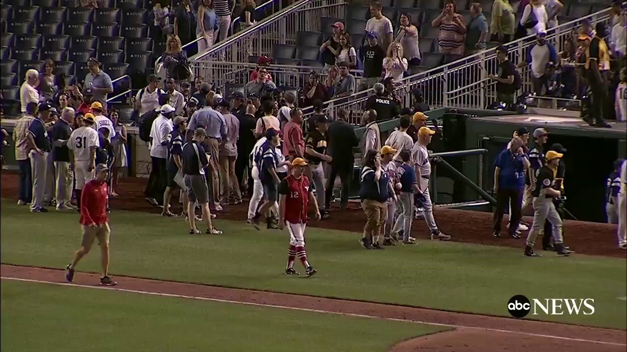 Congressional Baseball Game Goes On As Normally As Possible