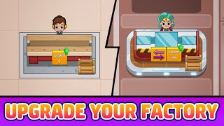 Idle Factory Tycoon Gameplay | Mobile | No Commentary